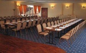 zdjęcie sali konferencyjnej, Hotel Almarco, Środa Wlkp.