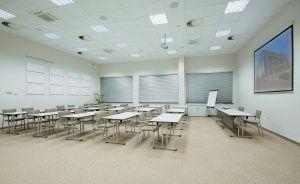 zdjęcie sali konferencyjnej, Małopolskie Centrum Edukacji Budowlanej, Kraków