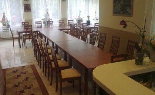 zdjęcie sali konferencyjnej, Willa Wenta, Szczyrk