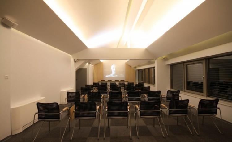 zdjęcie sali konferencyjnej, Sala konferencyjna Panorama w kompleksie Szpitalna 13, Opole
