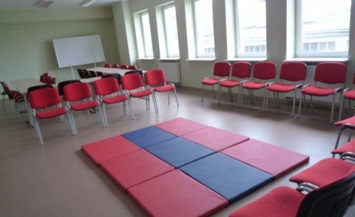 zdjęcie sali konferencyjnej, Konińskie Centrum Kształcenia, Konin