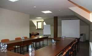 zdjęcie sali konferencyjnej, Zielony Gościniec, Sulejów