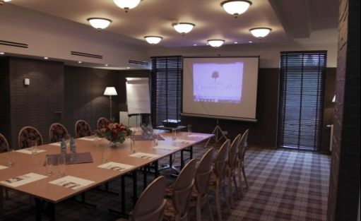 zdjęcie sali konferencyjnej, Lipowy Most Golf Park Sp z o.o., Supraśl