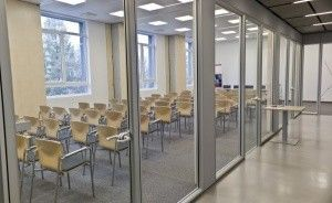 zdjęcie sali konferencyjnej, Centrum Konferencyjno - Szkoleniowe KAI INFO, Olsztyn