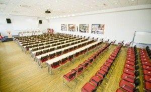 zdjęcie sali konferencyjnej, Wyższa Szkoła Handlowa we Wrocławiu, Wrocław