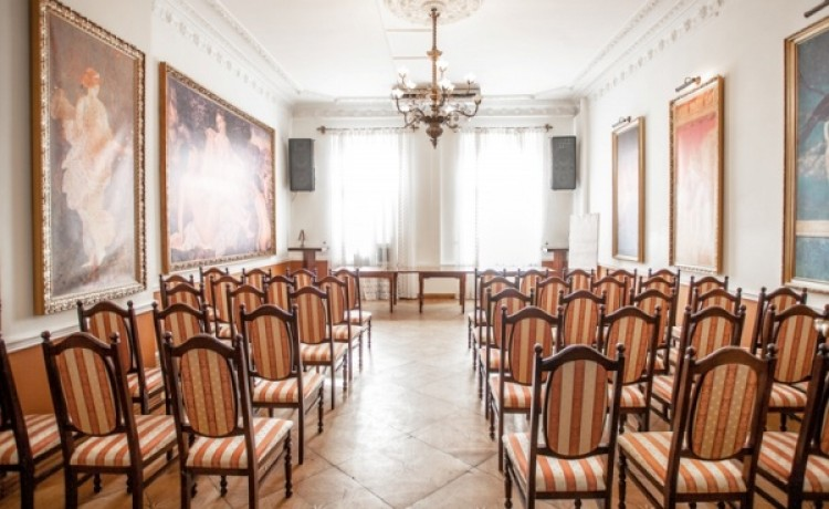 zdjęcie sali konferencyjnej, Willa Astoria, Szczecin