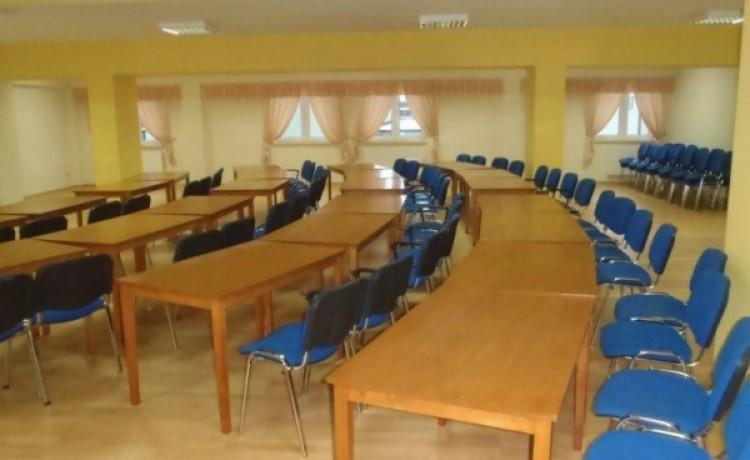 zdjęcie sali konferencyjnej, Centrum Activ, Sypniewo