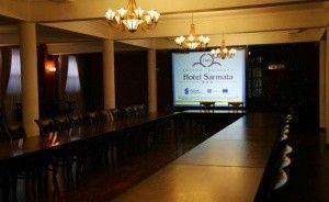 zdjęcie sali konferencyjnej, Zespół Dworski Hotel Sarmata***, Sandomierz
