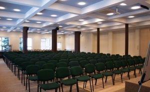 zdjęcie sali konferencyjnej, Ośrodek Szkoleniowo Wypoczynkowy Galicya, Krynica-Zdrój