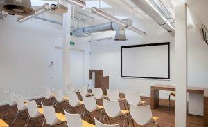 zdjęcie sali konferencyjnej, Concordia Design, Poznań