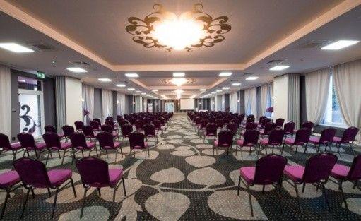 zdjęcie sali konferencyjnej, Hotel Sękowski i Sękowski Forum, Legnica