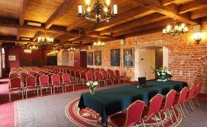 zdjęcie sali konferencyjnej, Zamek Gniew, Gniew