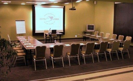 zdjęcie sali konferencyjnej, Hotel Słowik, Poniatowa