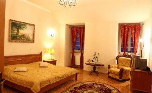 zdjęcie pokoju, Pałac Izbicko, Izbicko