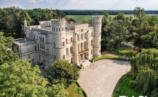 Ośrodek Integracji Europejskiej w Rokosowie - Zamek w Rokosowie