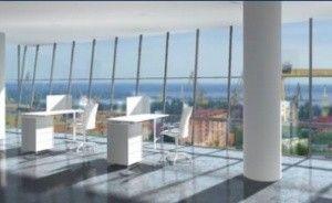 zdjęcie sali konferencyjnej, Hanza Tower, Szczecin