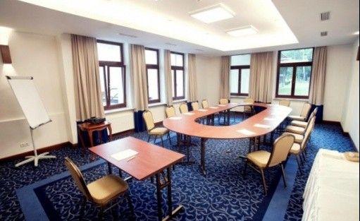 zdjęcie sali konferencyjnej, Las Woda Park Rekreacyjno - Biznesowy, Wilga