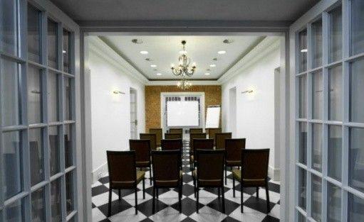zdjęcie sali konferencyjnej, Pensjonat Villa Neve, Ustrzyki Dolne