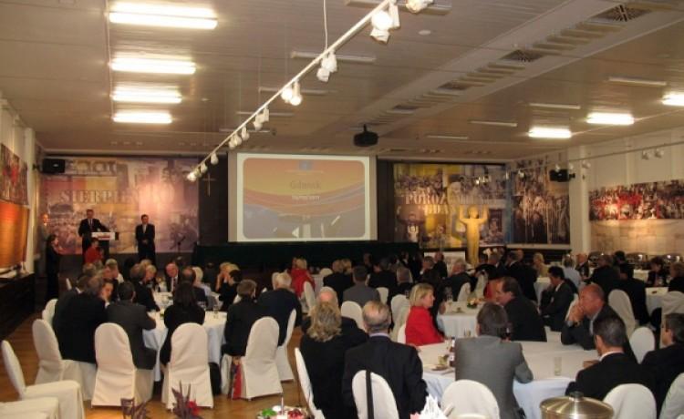 zdjęcie sali konferencyjnej, SALA BHP centrum konferencyjno-wystawiennicze, Gdańsk