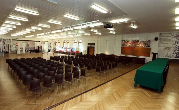 Sala konferencyjna Muzeum Sali BHP Stoczni Gdańskiej / 2