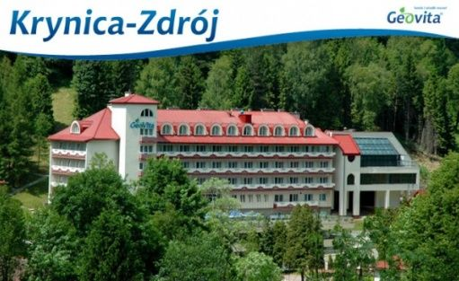Centrum Zdrowia, Urody i Rekreacji GEOVITA w Krynicy-Zdroju