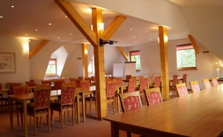 zdjęcie sali konferencyjnej, Ośrodek FIAN, Zakopane