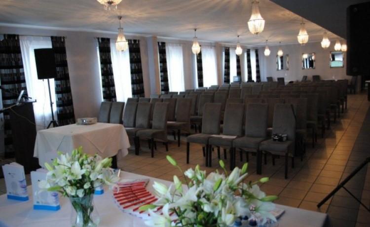 zdjęcie sali konferencyjnej, Restauracja Ceremonia, Szczecin
