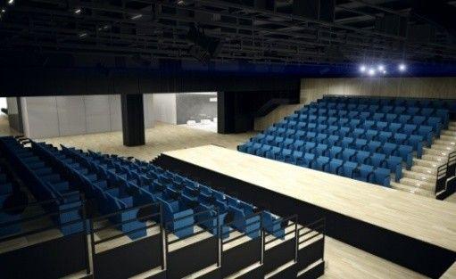 zdjęcie sali konferencyjnej, ICE Kraków, Kraków