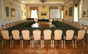 zdjęcie sali konferencyjnej, Pałac Łochów, Łochów