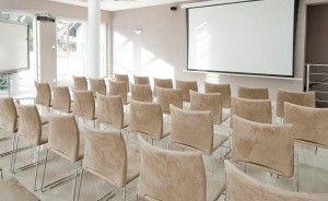 zdjęcie sali konferencyjnej, Poleskie Centrum Konferencyjno - Szkoleniowe Babie Lato, Włodawa