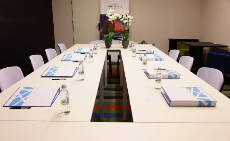 zdjęcie sali konferencyjnej, City Residence, Łódź