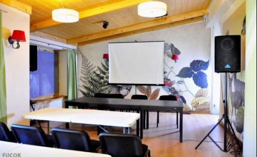 zdjęcie sali konferencyjnej, Dworzec Tatrzański, Zakopane