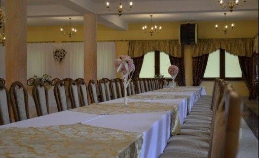 zdjęcie sali konferencyjnej, Złota Róża, Sędziszów