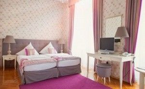 zdjęcie pokoju, Pałac Brunów, Lwówek Śląski