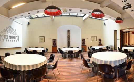 zdjęcie sali konferencyjnej, Hotel Monopol Wrocław, Wrocław