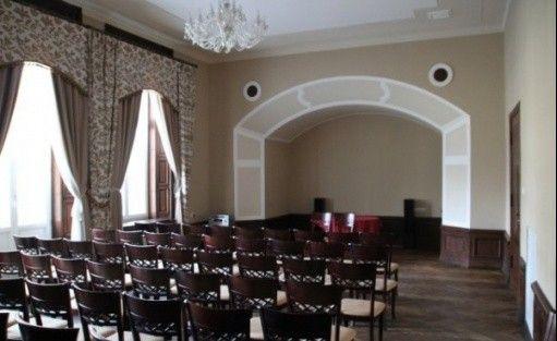 zdjęcie sali konferencyjnej, Pałac Borowa, Borowa
