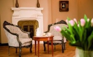 zdjęcie pokoju, Pałac Borowa, Borowa