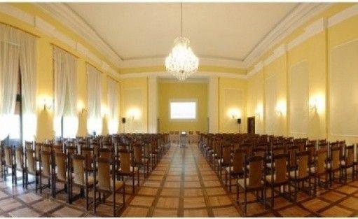 zdjęcie sali konferencyjnej, Hotel przy Oślej Bramie, Wałbrzych