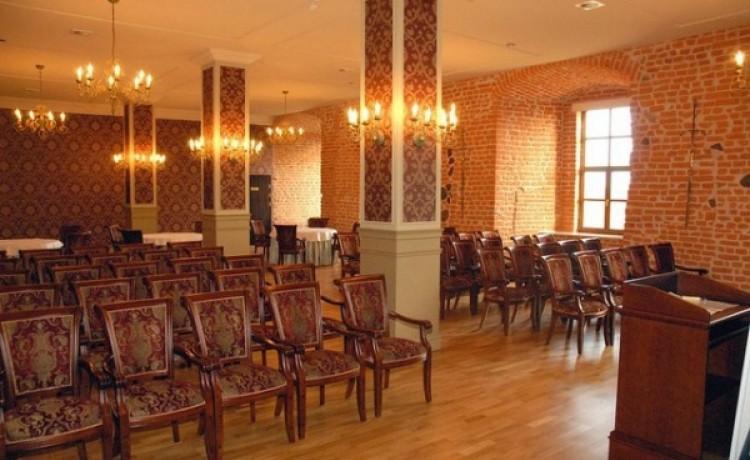 zdjęcie sali konferencyjnej, Hotel Zamek Ryn, Ryn