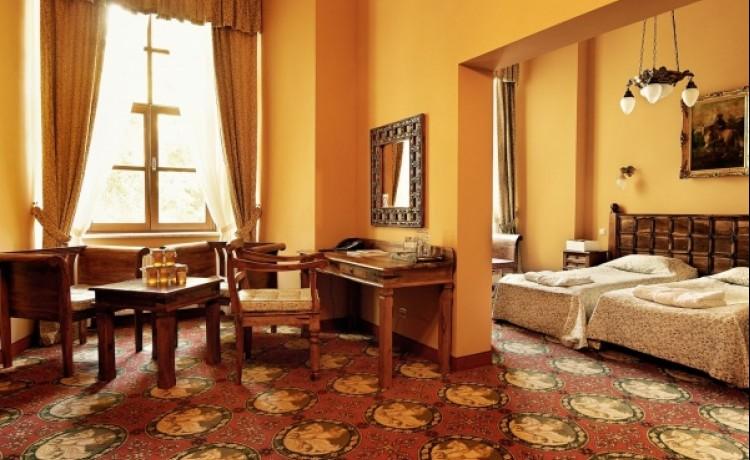 zdjęcie pokoju, Hotel Zamek Ryn, Ryn