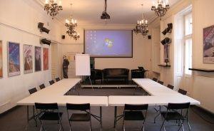 zdjęcie sali konferencyjnej, Centrum Myśli Jana Pawła II , Warszawa