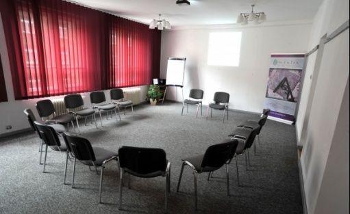 zdjęcie sali konferencyjnej, Centrum Szkoleniowe Mentor, Kraków