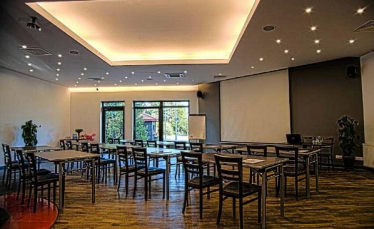 zdjęcie sali konferencyjnej, CZARNY KOS  komfortowy pensjonat na Kaszubach, Gdańsk