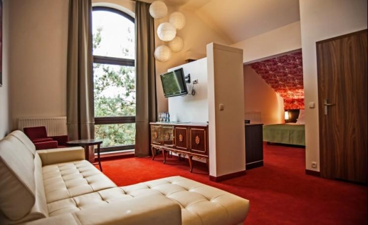 zdjęcie pokoju, CZARNY KOS  komfortowy pensjonat na Kaszubach, Gdańsk