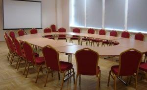 zdjęcie sali konferencyjnej, Centrum Kultury Wsi Polskiej im. W. Witosa w Wierzchosławicach , Wierzchosławice