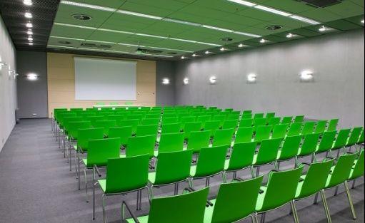 zdjęcie sali konferencyjnej, AmberExpo Centrum Wystawienniczo-Kongresowe, Gdańsk