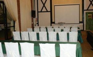 zdjęcie sali konferencyjnej, Pięć Dębów, Supraśl