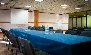 zdjęcie sali konferencyjnej, Centrum Szkolenia i Rekreacji KRASNOBRÓD, Krasnobród