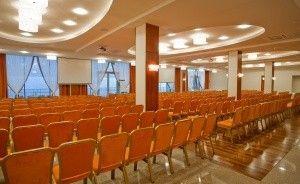 zdjęcie sali konferencyjnej, Centrum Konferencyjno-Bankietowe RUBIN, Łódź