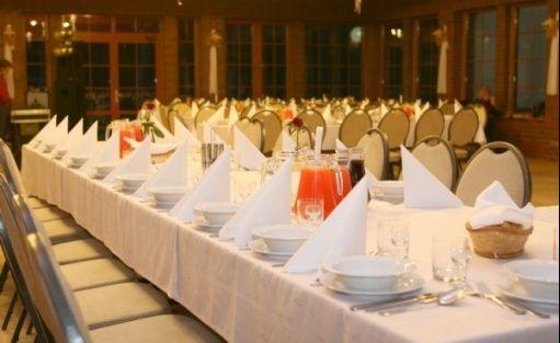 zdjęcie sali konferencyjnej, Leśniczówka Przyłęsko, Rybakowo